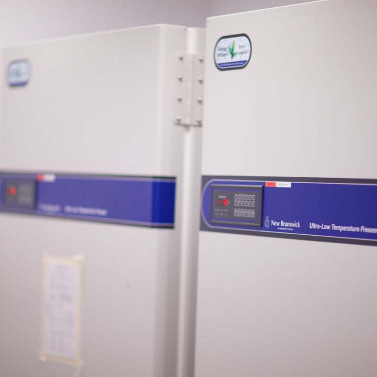 Ultralow temperature freezers in the OCRB