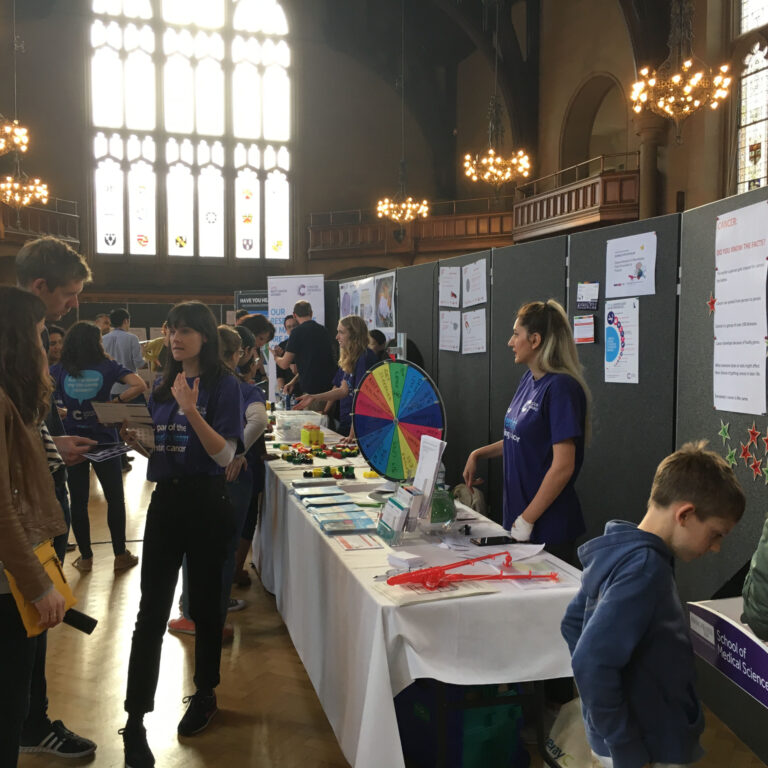 Public engagement event at Whitworth Hall