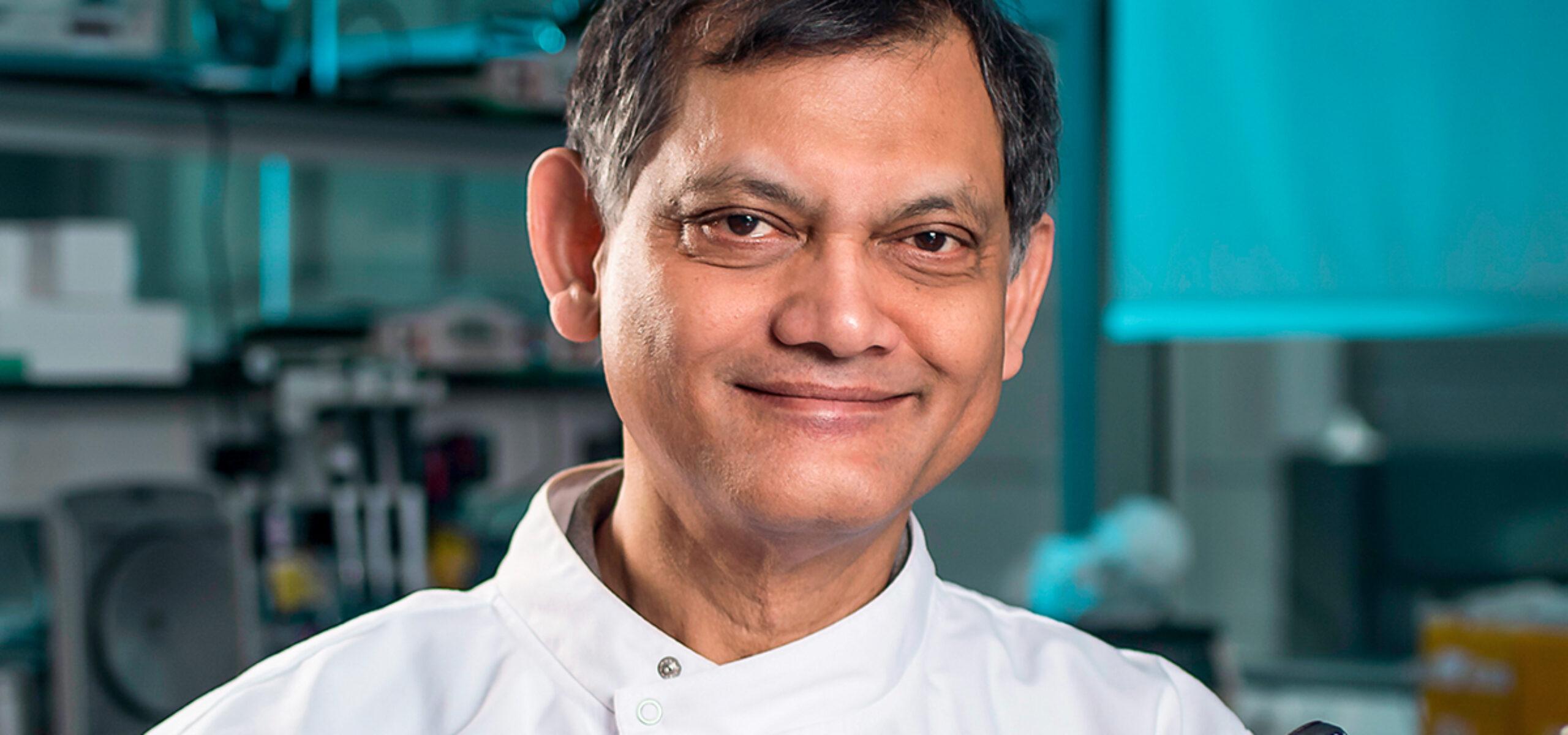 Professor Vaskar Saha, Professor of Paediatric Oncology at The University of Manchester