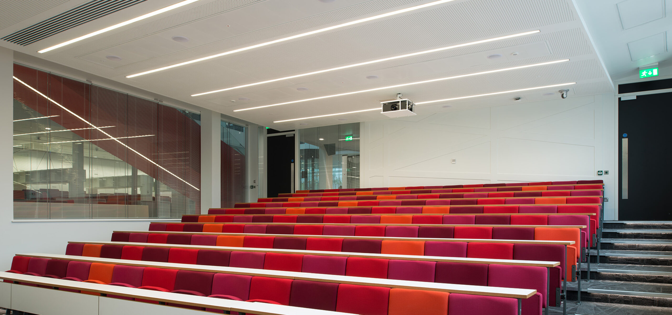 Inside the OCRB Lecture Theatre