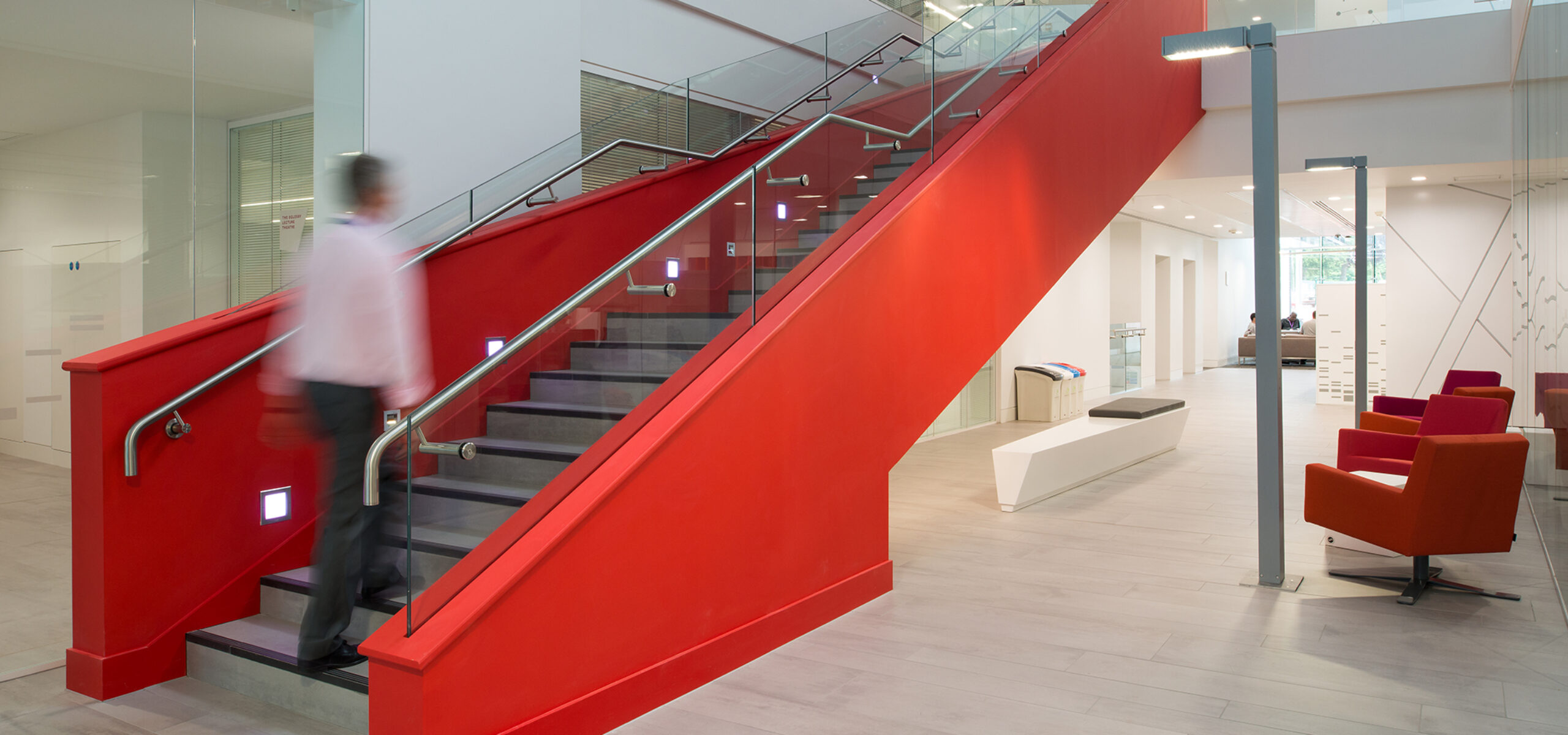 Staircase in the OCRB from ground floor