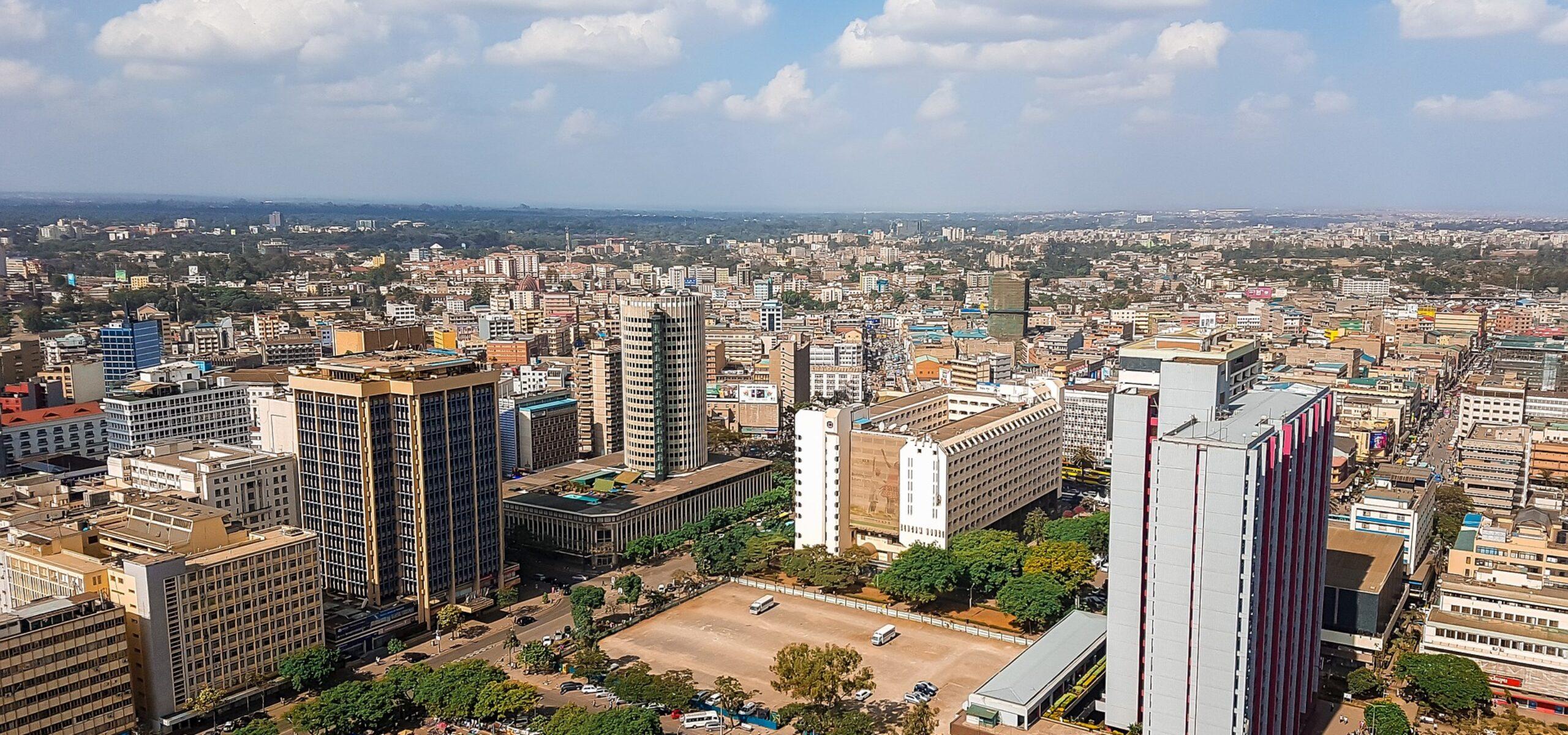 Kenya cityscape